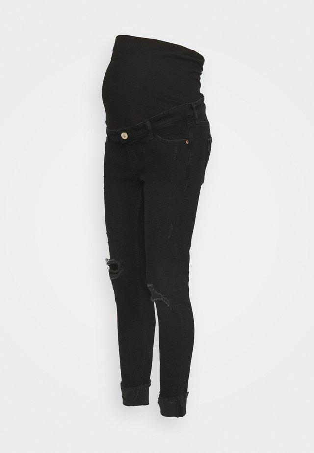 Skinny-Farkut - washed black