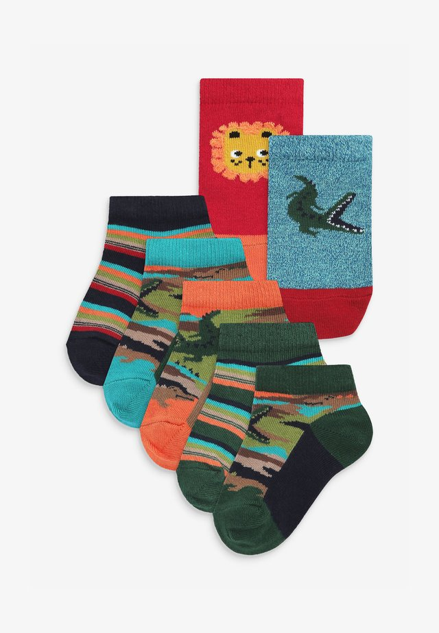 7 PACK  - Ponožky - green