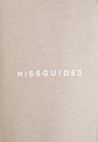 Missguided Petite - OVERSIZED JOGGER - Joggebukse - grey - 2