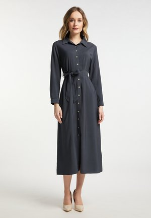 Skjortekjole - dark grey