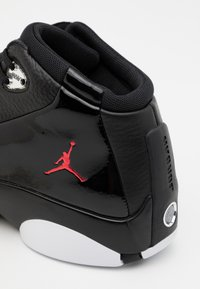 Jordan - JUMPMAN TEAM FLOW - High-top trainers - black/gym red/white/metallic silver