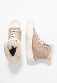 Candice Cooper - VANCOUVER - Ankle boots - taupe/tamponato panna - 3