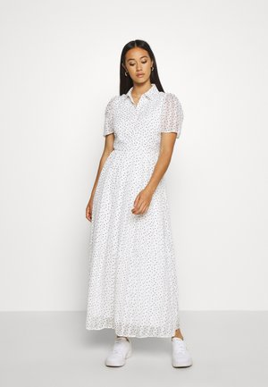 YASMOERKI ANKLE DRESS - Maxi dress - white