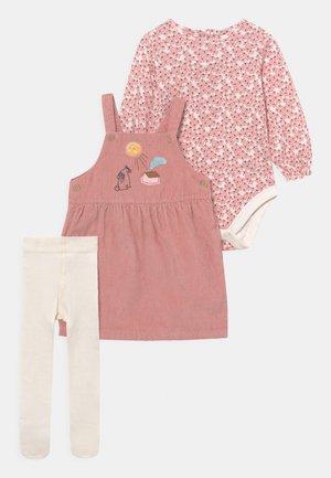 BABY DRESS SET - Legging - pink mix