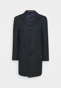 HOUNDSTOOTH DESIGN OVERCOAT - Classic coat - blue