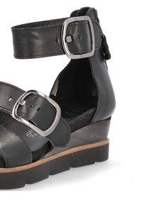 MJUS - Platform sandals - nero - 6