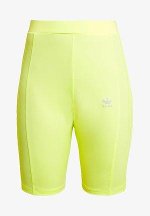 CYCLING SHORTS - Short - semi frozen yellow