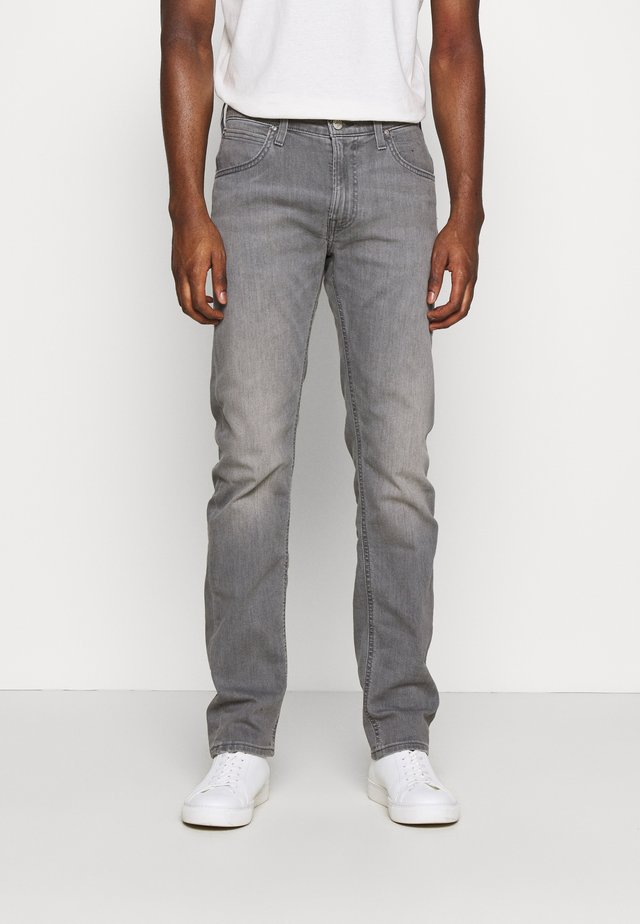 DAREN ZIP FLY - Jeans straight leg - light crosby