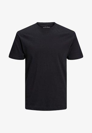 JJELIAM TEE SS CREW NECK NOOS - Basic T-shirt - black