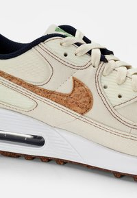 Nike Sportswear - NIKE AIR MAX 90 - Trainers - coconut milk/wheat-obsidian-white - 5