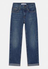 Calvin Klein Jeans - REGULAR STRAIGHT - Straight leg jeans - blue - 0