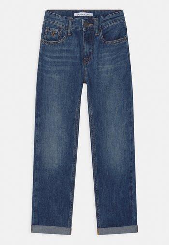 REGULAR STRAIGHT - Straight leg jeans - blue