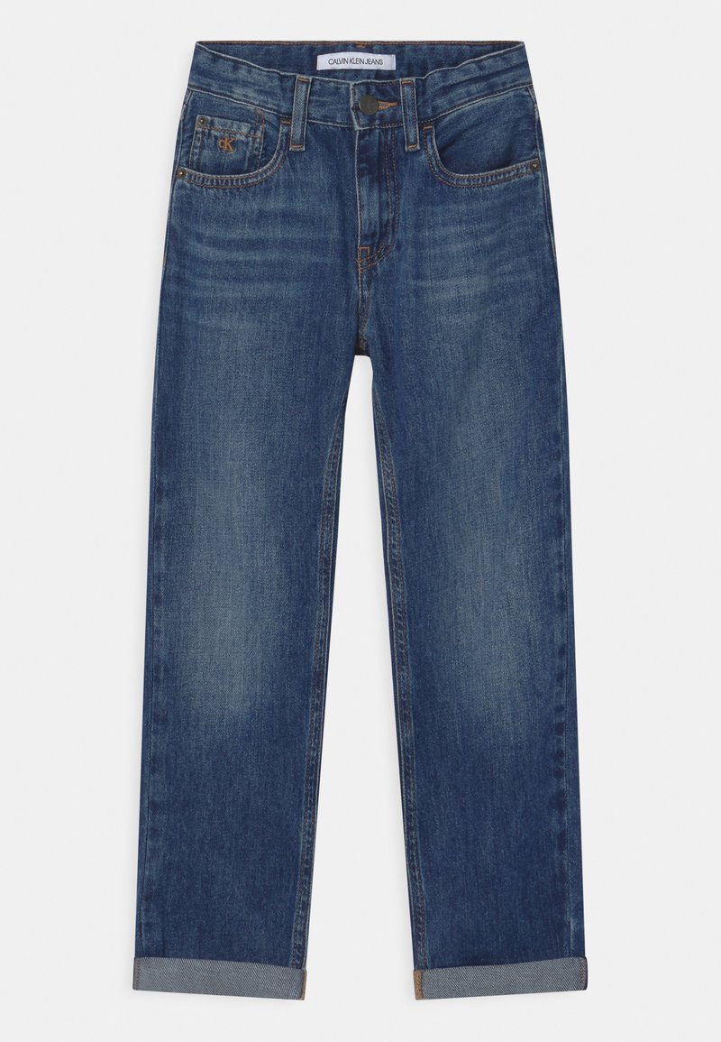 Calvin Klein Jeans - REGULAR STRAIGHT - Straight leg jeans - blue