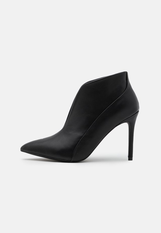 PATCH - Bottines à talons hauts - black