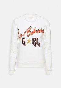 LA BOHEME GIRL BASIC - Sweatshirt - white