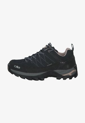 RIGEL - Hiking shoes - schwarz