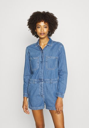UTILITY ROMPER MED CAPTAIN STRIPE - Jumpsuit - blue