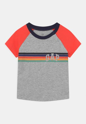ARCH RAGLAN - T-shirt med print - light heather grey