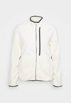 NMKITTY ZIP - Fleece jacket - eggnog