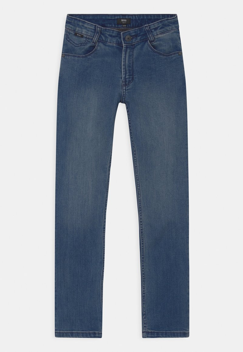 BOSS Kidswear - Slim fit jeans - blue denim
