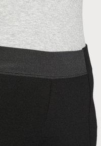 Esprit - PUNTO PANT - Leggings - Trousers - black - 4