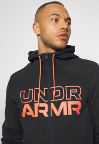 Under Armour - BASELINE FULL ZIP HOODIE - Hoodie - black - 3