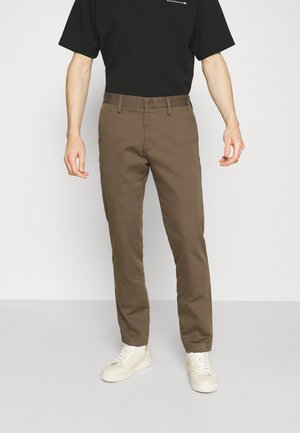 THEO  - Trousers - clay