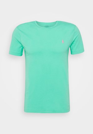 CUSTOM SLIM FIT CREWNECK - T-shirt - bas - sunset green