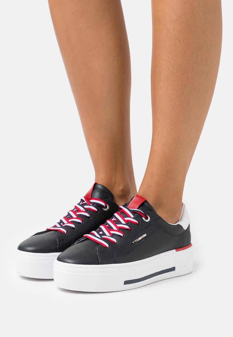 TOM TAILOR DENIM - Sneakers laag - navy