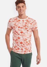 Shiwi - TEE KAUAI - T-Shirt print - sunset red - 0