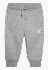 adidas Originals - BIG TREFOILCREW SET - Tuta - mid grey heather/white - 2