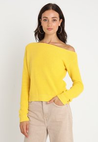 Even&Odd - Jumper - dark yellow - 0