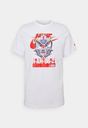 TEE MECH AIR MASK - T-shirt med print - white