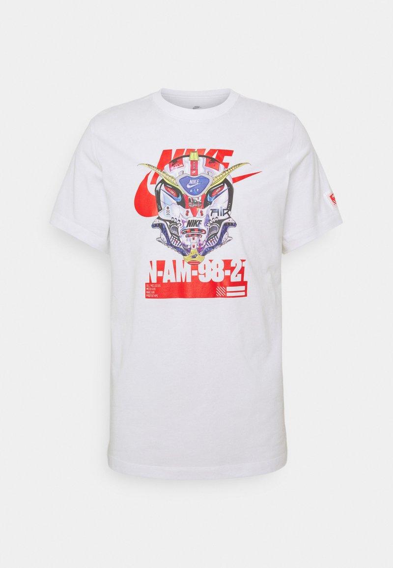 Nike Sportswear - TEE MECH AIR MASK - Print T-shirt - white