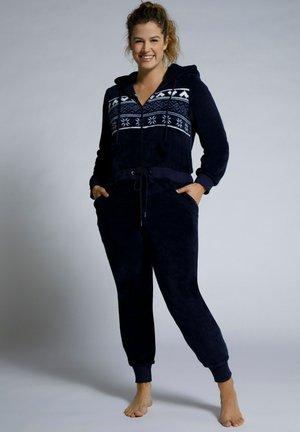 ULLNORDIC STRIPE ZIP FRONT - Jumpsuit - navy blue