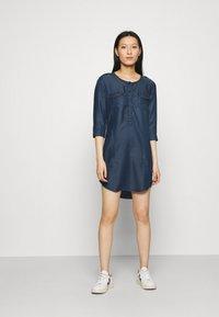 LTB - ELORA - Robe en jean - brave wash - 0
