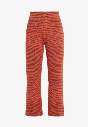PAZA - Trousers - orange gerbera