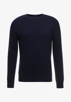 BASIC CREWNECK - Jumper - navy