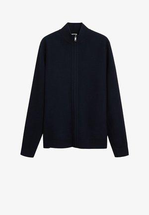 LUXUS - Cardigan - marineblau