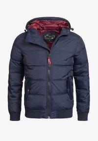 INDICODE JEANS - ADRIAN - Winter jacket - navy - 3