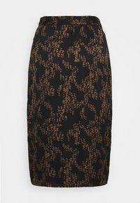 Bruuns Bazaar - TREE VIOLIS SKIRT - Áčková sukně - black - 6