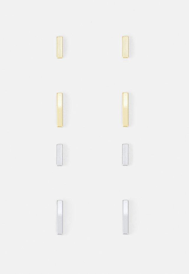 2 PACK - Örhänge - gold-coloured/silver-coloured
