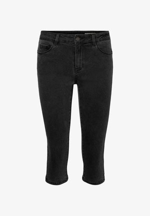 VMSEVEN  - Denim shorts - black