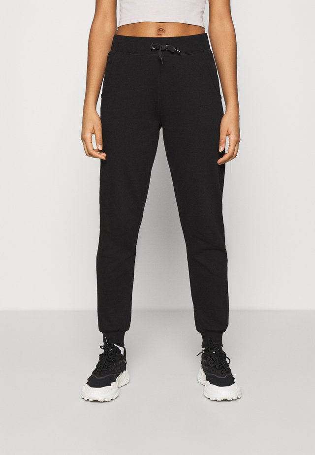 SLIM LEG JOGGER - Tracksuit bottoms - black
