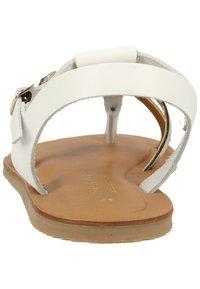 Scapa - SCAPA ZEHENSTEG - Sandals - wit / blanc 100 - 4
