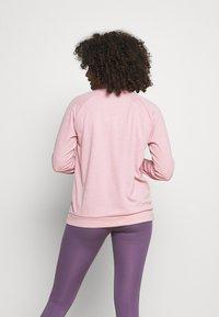 Nike Performance - PACER - Sports shirt - pink glaze/heather/reflective silver - 2