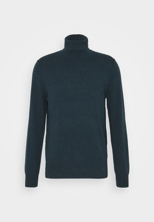 ROLLER NECK - Jumper - pacific