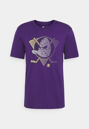 NHL ANAHEIM DUCKS FADE CORE GRAPHIC  - Klubové oblečení - purple