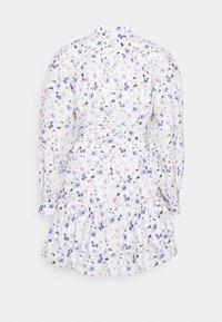 The Kooples - DRESS - Shirt dress - ecru/lavender - 1