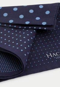 Hackett London - QUAD DOT HANK - Scarf - navy - 1